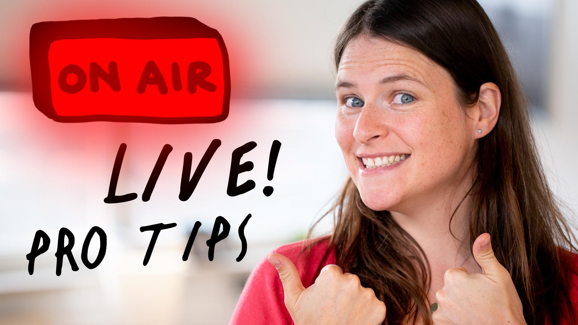 "Featured image for ""Hoe organiseer je een succesvolle livestream? Pro tips!"""